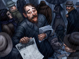 Conspiracy Theorist by feliciacano