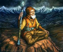 Guru for Talisman by feliciacano