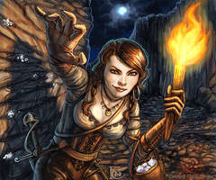 Treasure Hunter for Talisman by feliciacano