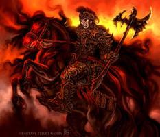 Wrathborn Knight for Talisman by feliciacano