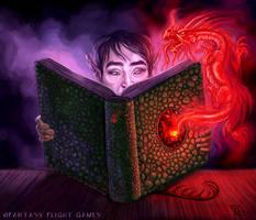 Dragon Lore for Talisman by feliciacano