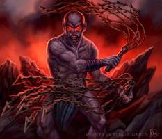 Varthrax Zealot for Talisman by feliciacano