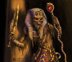 Mummy King for Talisman by feliciacano
