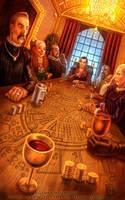 Merchants' Guild for Talisman The City by feliciacano