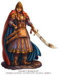 Warlord for Talisman the Firelands by feliciacano