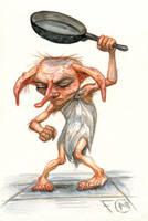 Bad Dobby by feliciacano