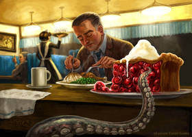 A Warm Meal for Elder Sign by feliciacano