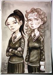Cho and Marietta by feliciacano