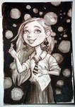 Luna Lovegood by feliciacano