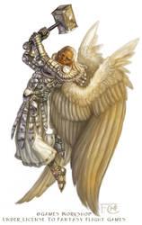 Celestial for Talisman the Harbinger by feliciacano