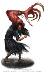 Possessed for Talisman The Harbinger by feliciacano