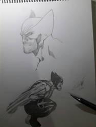 Wolverine sketch  by ArtSketcher5