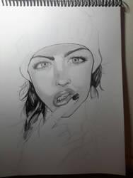 portrait 2 continuation by ArtSketcher5