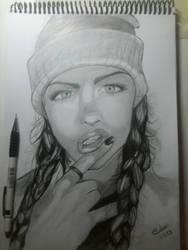 portrait finish by ArtSketcher5