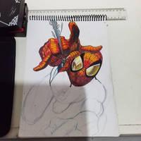 spider mano sketch 2 by ArtSketcher5