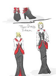 Thor Dress Idea by tamara-robitille