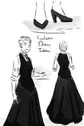 Agent Coulson Dress Idea by tamara-robitille