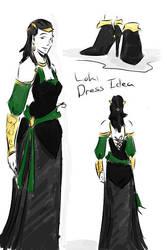 Loki Dress Idea by tamara-robitille