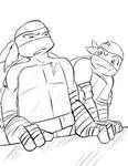 TMNT 2012 How Horrifying... by TEWdrop