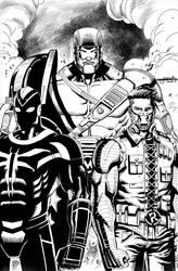 Rapid-Fire Comics Pinups by MarkMarvida