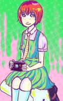 Photographer girl by OmfgaShineko