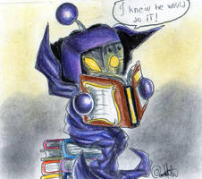 Phantom Bomber And his predictable books... by CalamittaBat