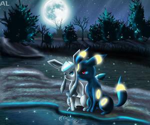 Under The Moon by Deruuyo
