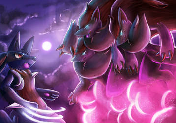 Zoroark used Phantasm by Deruuyo