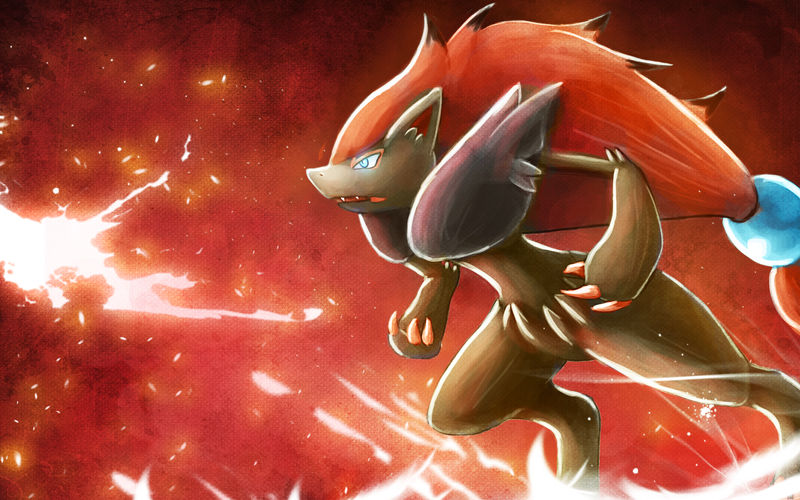 Zoroark Wallpaper By Deruuyo On Deviantart