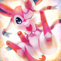 Sylveon by Deruuyo