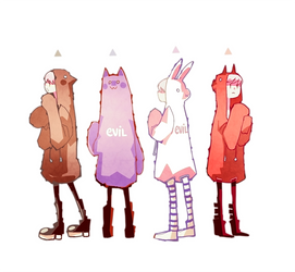 oddhood and friends by NanoMortis