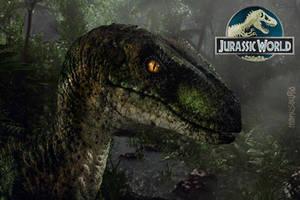 Jurassic World Raptor by MANUSAURIO