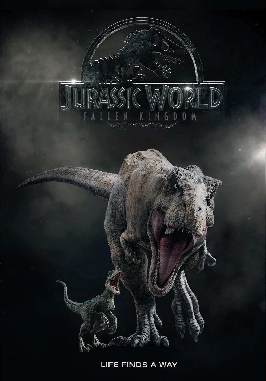 jurassic world fallen kingdom postermanusaurio on