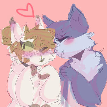pastel lesbians by BadWithIdioms