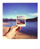 untitled, hand + lake by mgilpin
