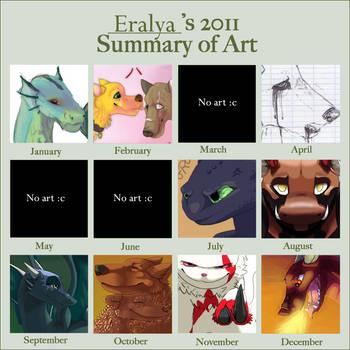 Summary of Art : 2011 by Eralya