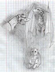 Dragons by Eralya