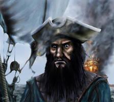 Cpt Blackbeard by Asynja