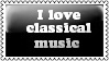 Classical Music Stamp by xrealisticx