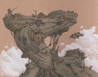 Aerial Station by JadiGrin