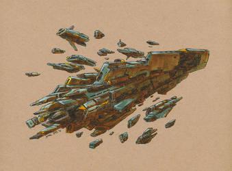 The Fleet 2 by JadiGrin