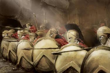 Spartans by kaimiirah