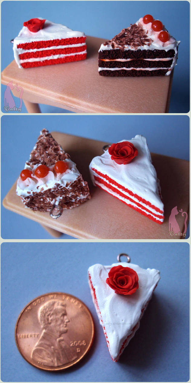 Red Velvet and Black Forest Cakes by Talty