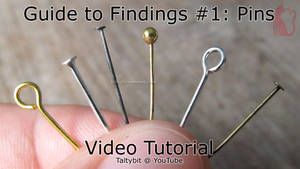 Findings #1: Using eyepins, ballpins, headpins by Talty