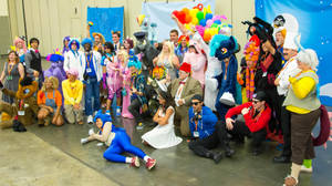 BronyCon 2015 - Cosplayers by joeyh3