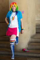 BronyCon 2016 - Rainbow Dash by joeyh3