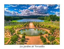 Jardines de Versalles by onicomicosis