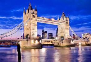 Puente de la torre de Londres by onicomicosis
