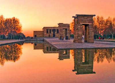 Templo de Debod n by onicomicosis