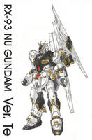 RX-93 Nu Gundam Ver. Te by Tekka-Croe